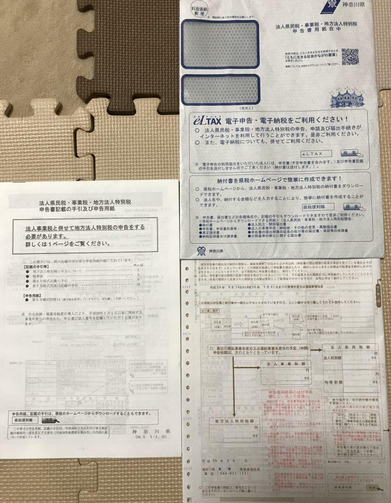 県民税・事業税・地方法人特別税